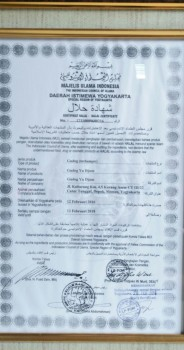 Halal MUI Gudeg Yu Djum 1