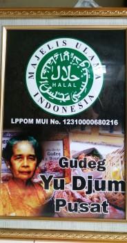 Halal MUI Gudeg Yu Djum 2