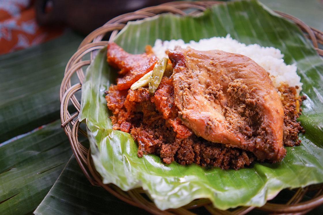 Nasi Gudeg Ayam Dada