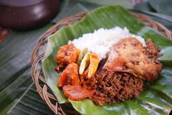 Nasi Gudeg Ayam Paha Atas Kecil