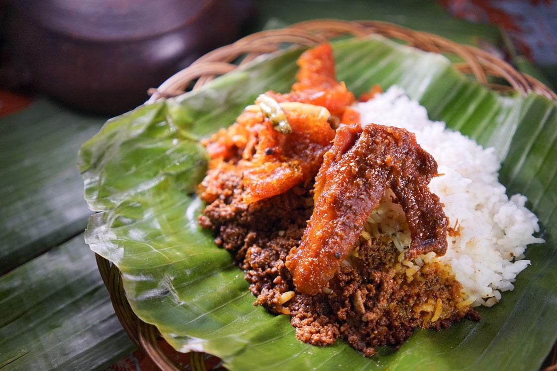 Nasi Gudeg Ayam Sayap