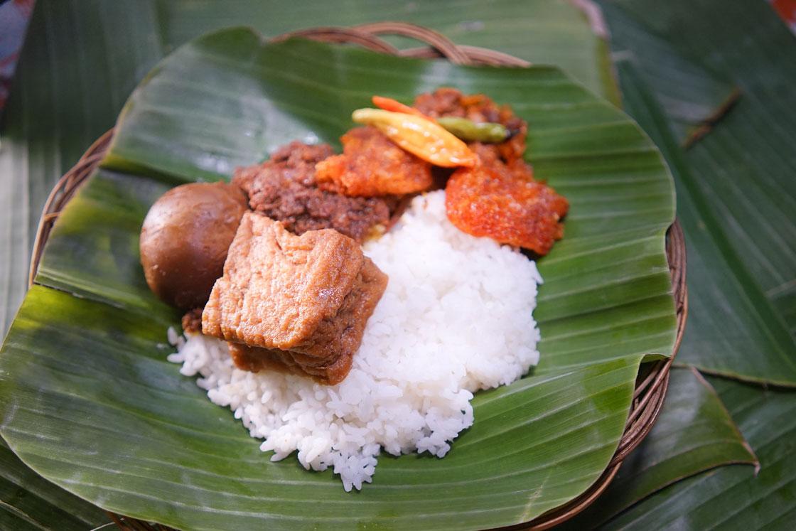 Nasi Gudeg Telur Tahu
