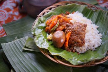 Nasi Gudeg Telur Tempe